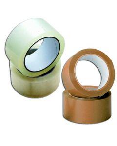Pakketape - 50 mm - klar eller brun
