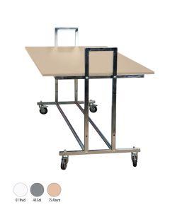 Gadebord - L10 - ahorn bordplade