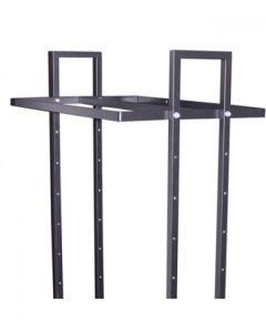 Dobbeltophæng t/ L-gadestativ - 90 cm - sort