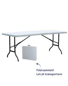 Markedsbord sammenklappeligt