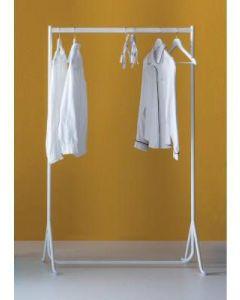 Tøjstativ, hvid