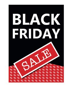 Plakat - Black Friday - 50 x 70 cm