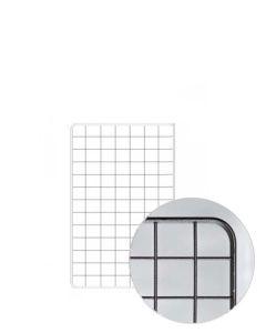 Gitter (80 x 100 cm.) - Sort hammerlak