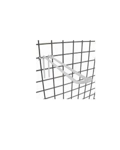 Varekrog, dobbelt - 20 cm. t/ gitter. Hvid