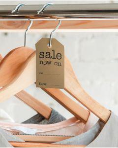 Manillamærker - Sale now on - H 7 cm.