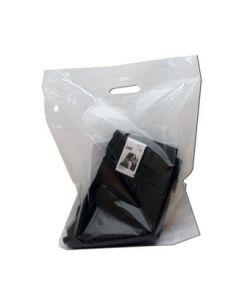 Plastikpose - mellem - Klar - 100 stk.