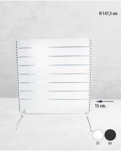 Panelgondol dobbeltsidet - 127 x H147 cm. - budget