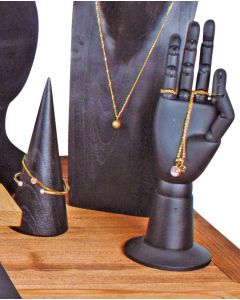 Fleksibel display hånd - Sort