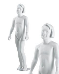 Pige børnemannequin 9-10 år