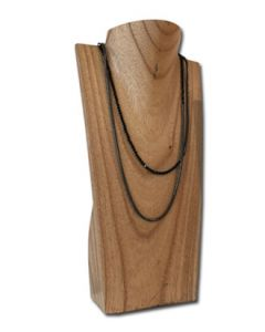 Halssmykkedisplay i træ - NATUR