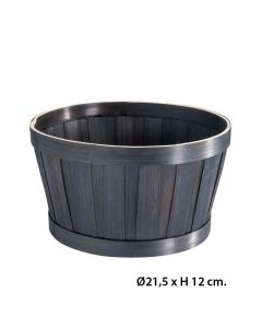 Gavekurv - Bambus Ø21,5 cm.