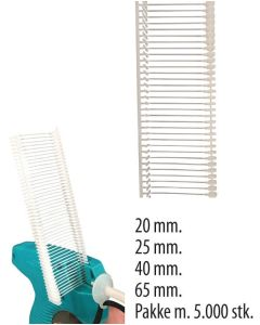 Pins t/ tekstilpistol - normal