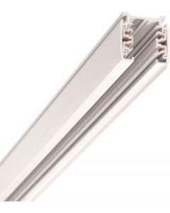 Strømskinne - 1 Meter -3F - Hvid -  Global