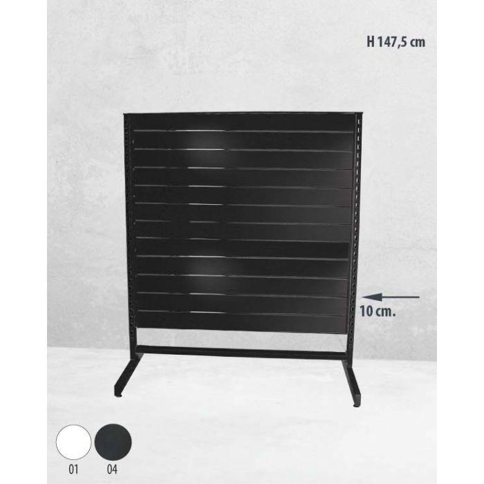 Panelgondol enkeltsidet - 127 x H147 cm.