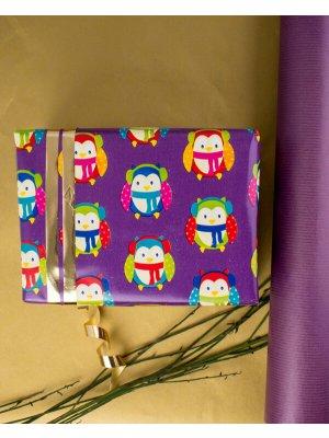 Eksempel på indpakning med jule gavepapiret