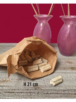 Frugtpose - H 21 cm. / 1 kg - 1.000 stk.
