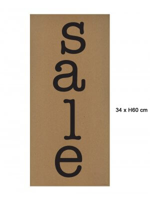 Poster - Sale - B 30 x H 64 cm.
