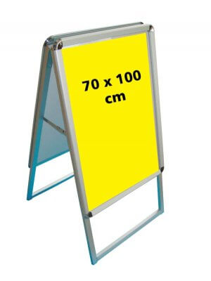 A-skilt (70 x 100 cm.)