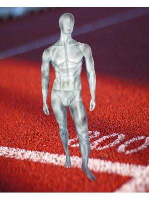 Sports Herremannequin - beton-look