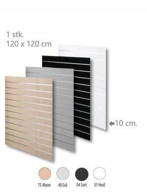 Rillepanel - Standard (120x120cm.)