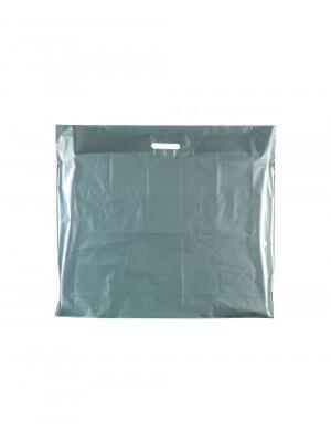 Plastpose - Ekstra stor -Sølv
