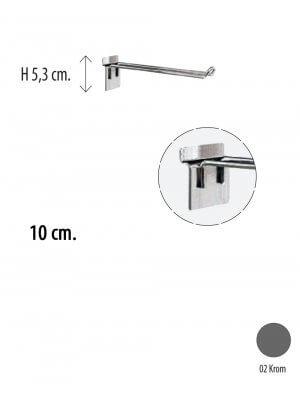 Varekrog, dobbelt 10 cm. t/ rillepanel