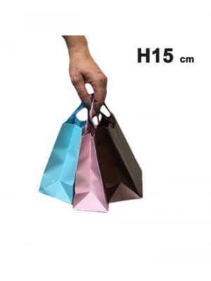 Papirpose - Mat - Mini - 50 stk.