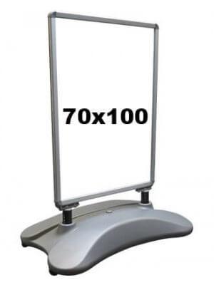 Gadeskilt - 70 x 100 cm. - Stormmaster