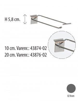 T-krog - Enkelt  t/ rillepanel