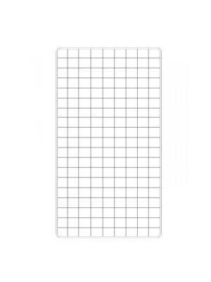 Hvidt gitter (100 x 200 cm.)