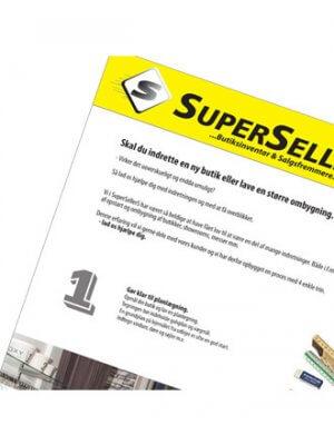 Katalog fra SuperSellerS - indretning din butik