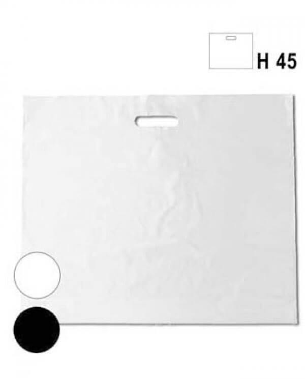hvide plastikposer
