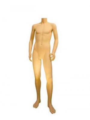 Ung herre mannequin m/ lægspyd