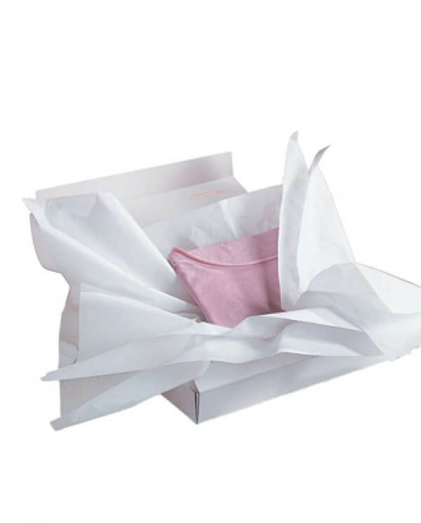 Hvidt silkepapir (B 55 x L 72 cm.)