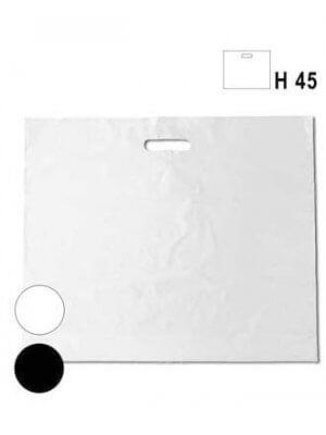 Store hvide budget plastikposer