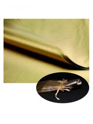 Silkepapir - Guld - 480 ark