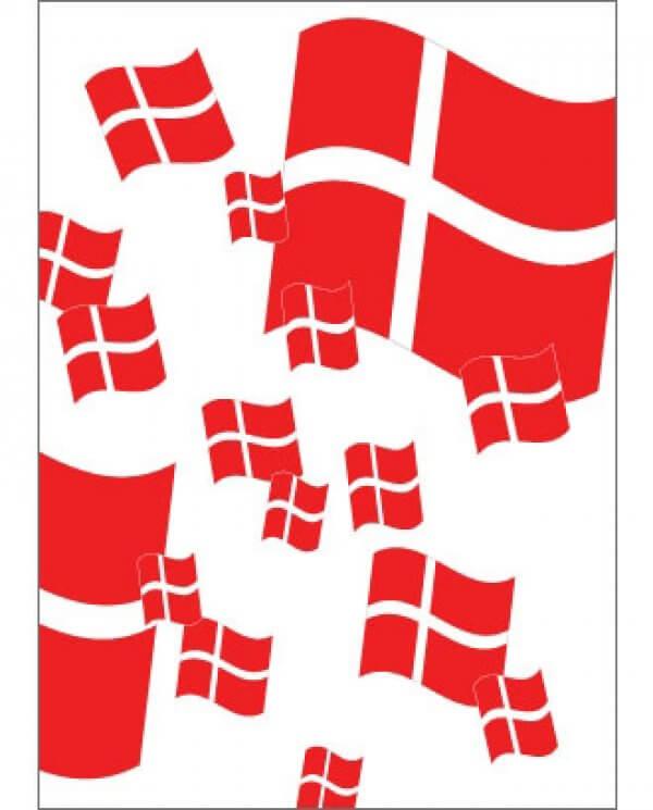 PLAKAT - Dannebrogs flag