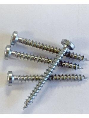 Spånskruer til hyldeknægte - 4x40 mm, 4 stk.