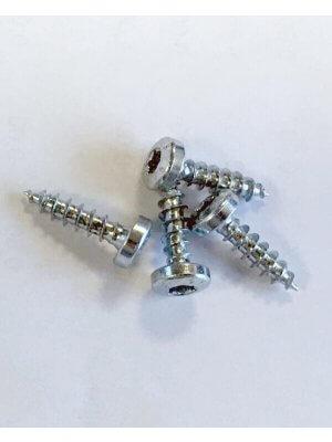 Spånskruer til hyldeknægte - 4x16 mm, 4 stk.
