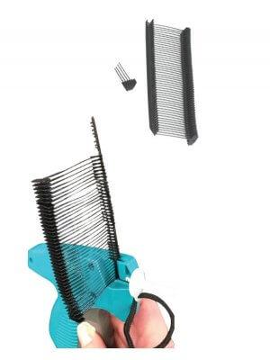 Pins 40mm til tekstilpistol, SORTE