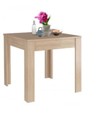 Eg Maria spisebord (B 80 cm.) i brug