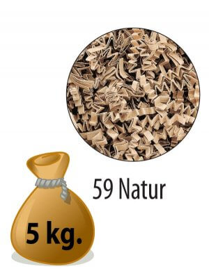 Sizzlepack - Naturel - 5 kg.
