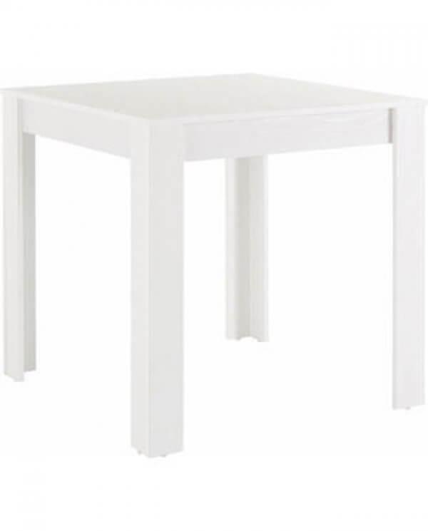 Hvid Maria spisebord (B 80 cm.)