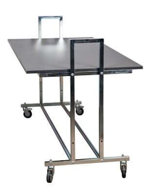 Gadebord - L10 - mørkegrå bordplade