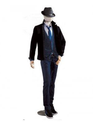 Herre mannequin - Hør torso - Vintage