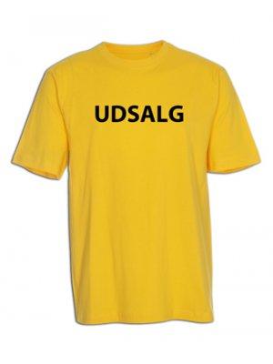 "T-shirt  ""UDSALG"""