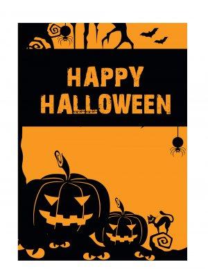Plakat -  Halloween - 50 x 70 cm