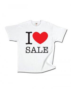 T-shirt   I ♥ SALE