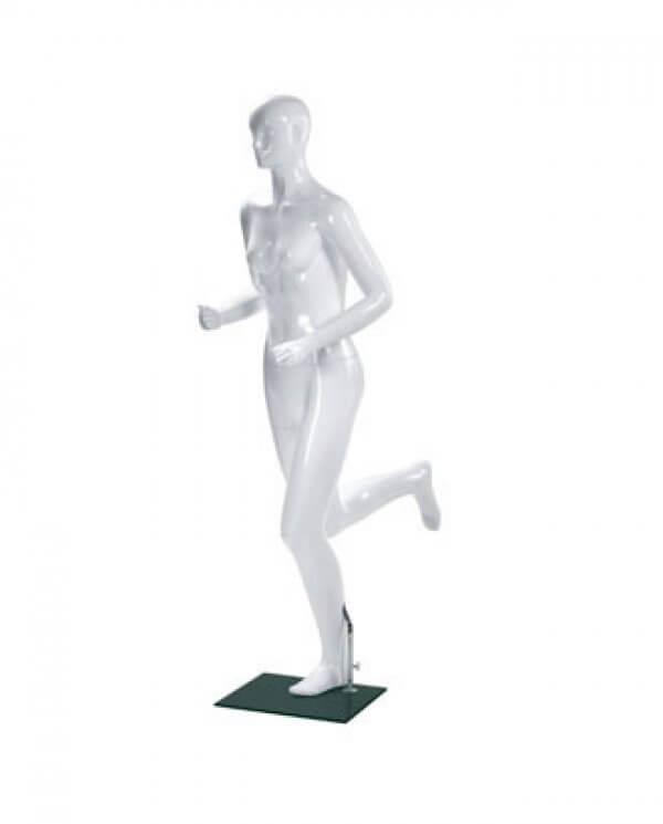 Sports mannequin - Dame løber