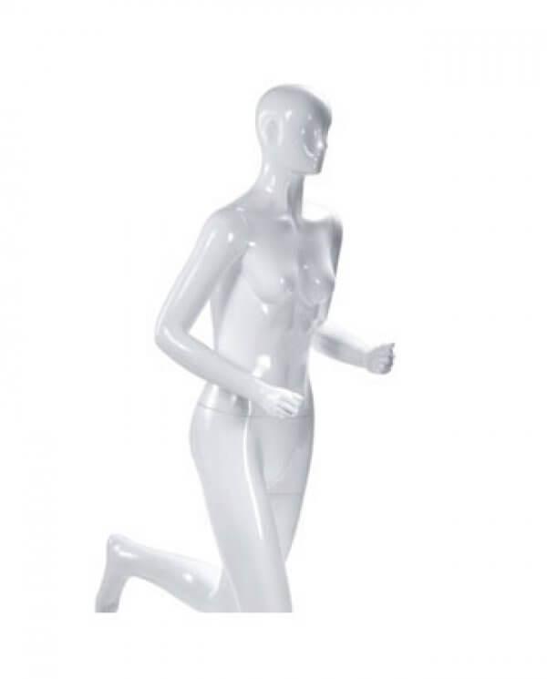 Nærbillede af sports mannequin